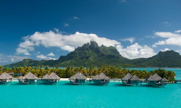 Luxury tahiti St Regis Bora Bora
