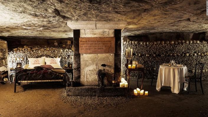 terrifying catacombs paris